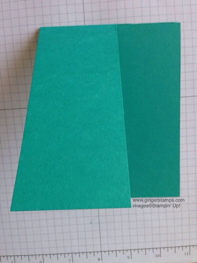 Trimmed card front