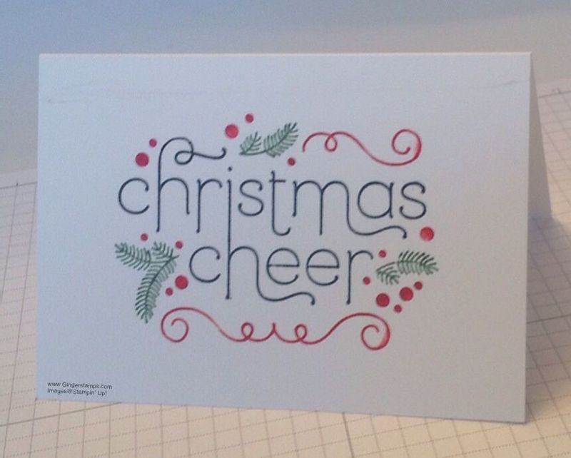Christmas Cheer left