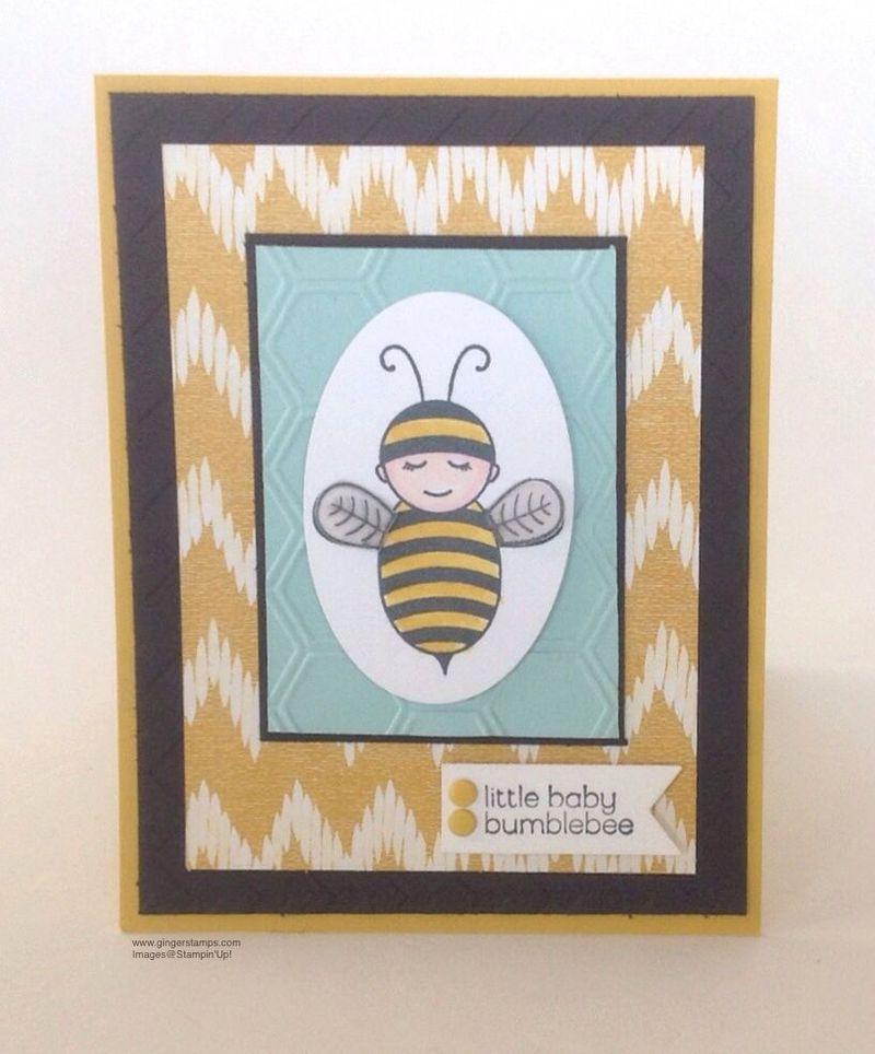 Baby bumblee bee flat