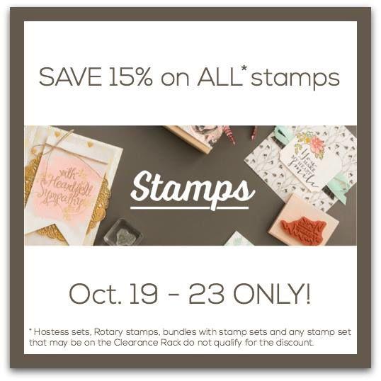 15% off stamp logo